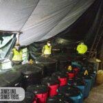 Destruido complejo para el procesamiento de cocaína en Campohermoso, Boyacá